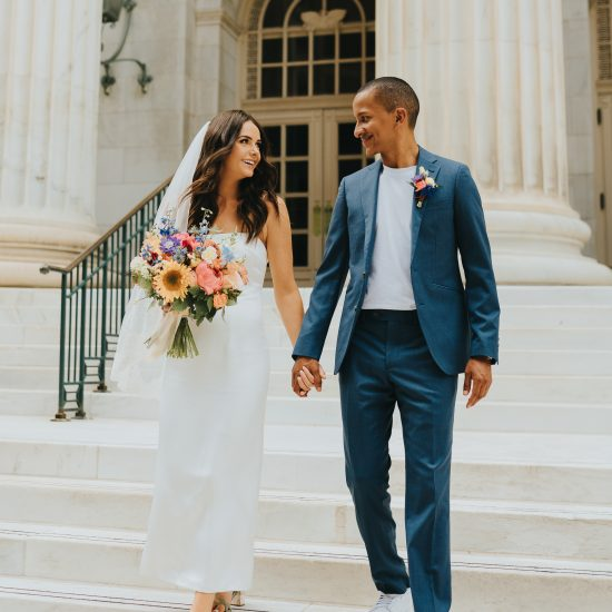 Cool and Casual Modern Downtown Denver Wedding