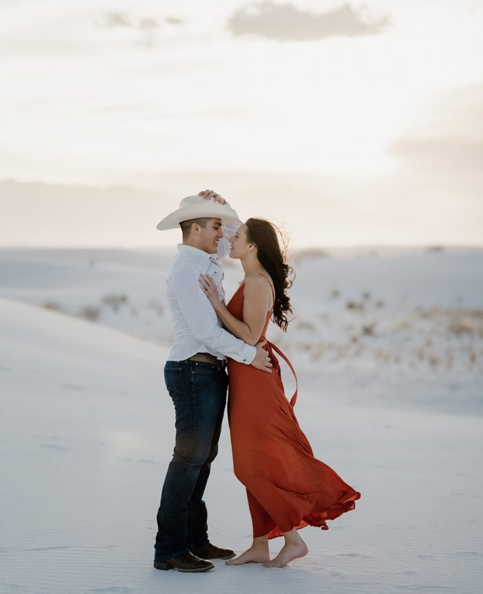 Barefoot Dunes Engagement at White Sands National Monument