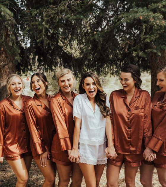 4 Trendy Getting Ready Outfits for you and your Bridesmaids