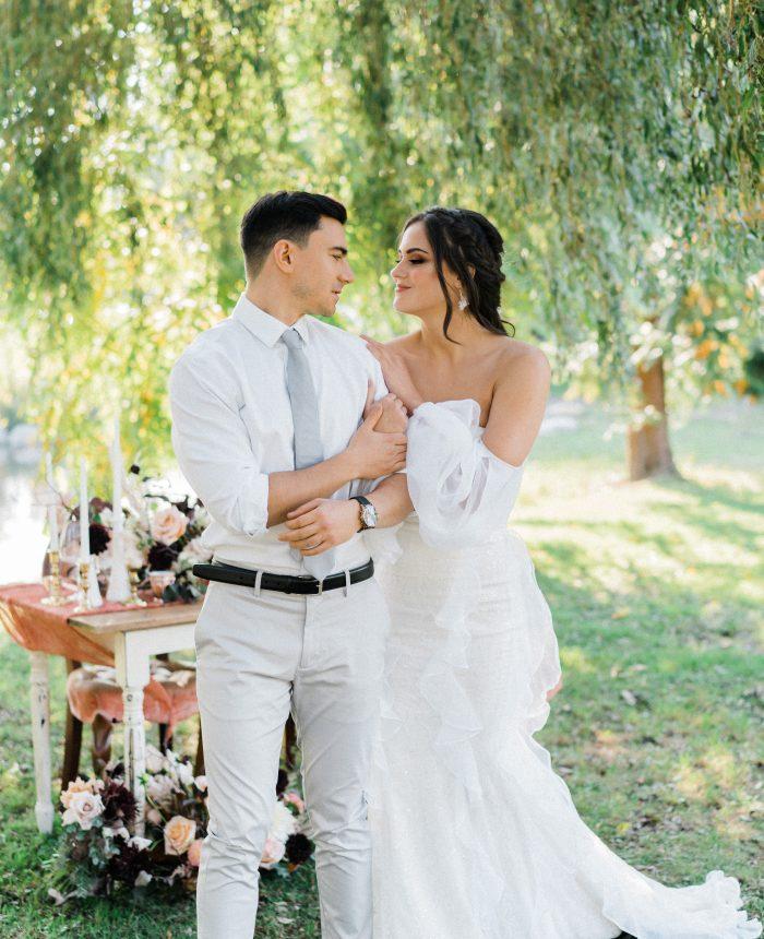 Vintage Luxe Autumn Wedding Inspiration