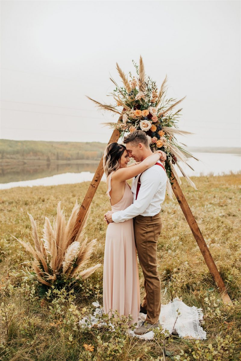 Citrus Infused River Valley Elopement Inspiration
