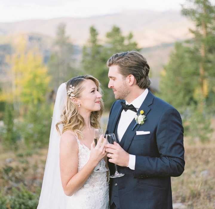Relaxed Glamour Wedding in Breckenridge