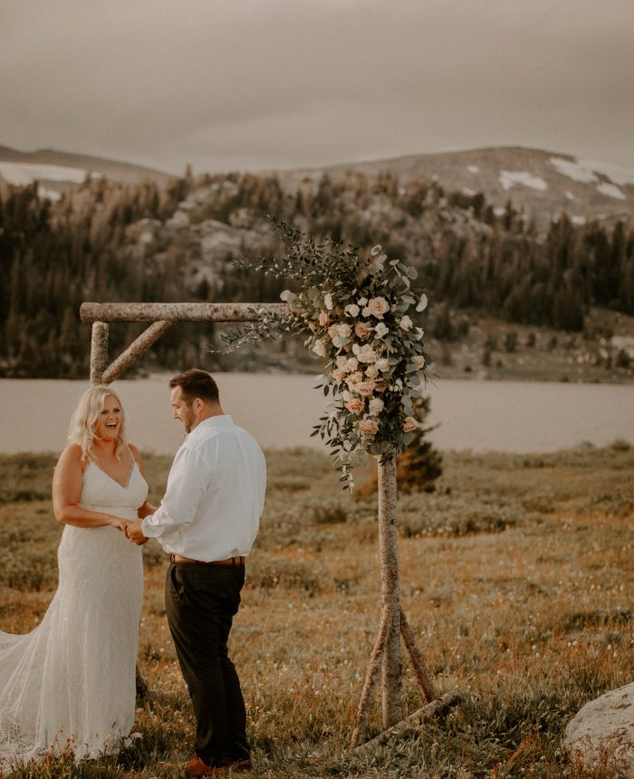 Simply Stunning Mountain Elopement