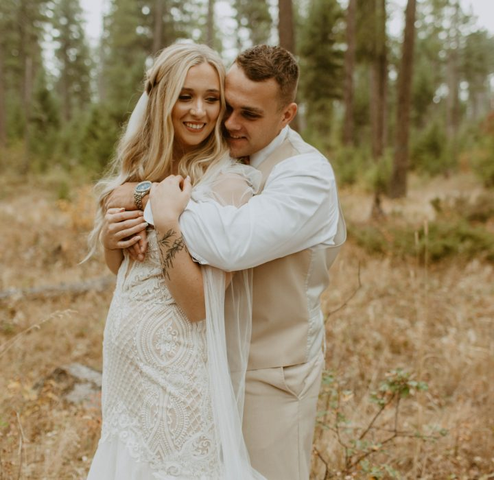 Cozy Fall Wedding in Whitefish