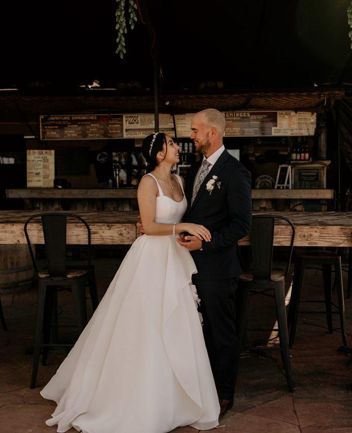 Intimate Santa Fe Wedding at Beer Creek Brewing Co.
