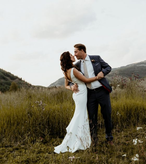 Whimsical and Intentional Camp Hale Wedding