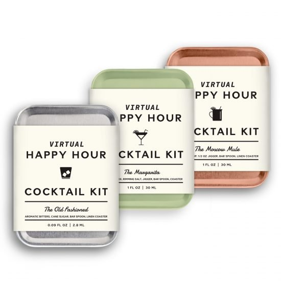 Virtual Happy Hour Cocktail Set