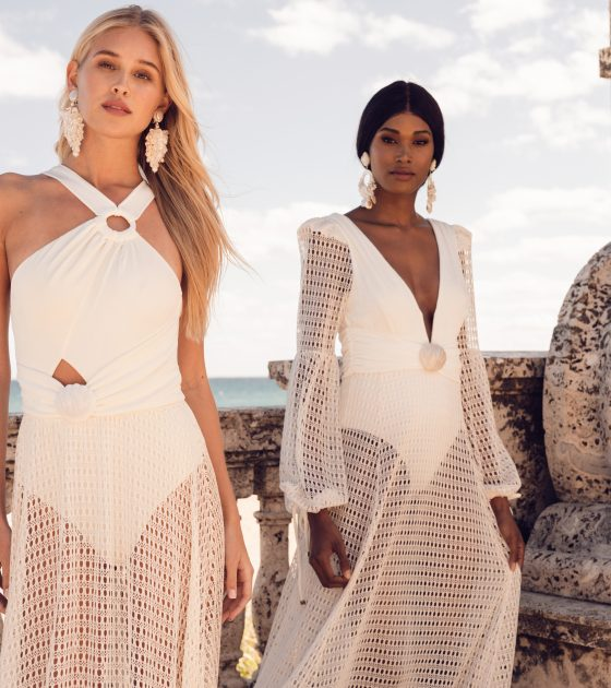 Honeymoon Looks from PatBO's Bridal Collection