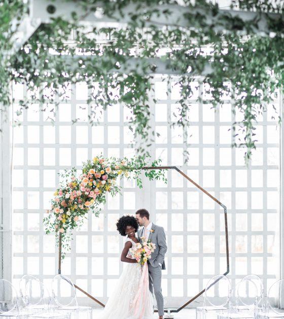 Delicate Pastel Wedding Inspiration at White Shanty Venue