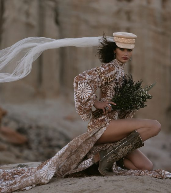 Wonderwest by Boot Barn Launches Royally Untamed, a Bridal Boot Collection