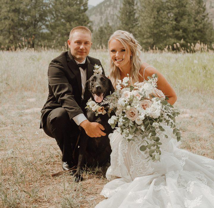 Modern Montana Summer Wedding at White Raven