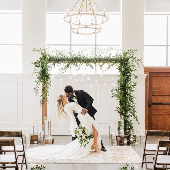 Elevated Wedding Inspiration at Historic State Bank
