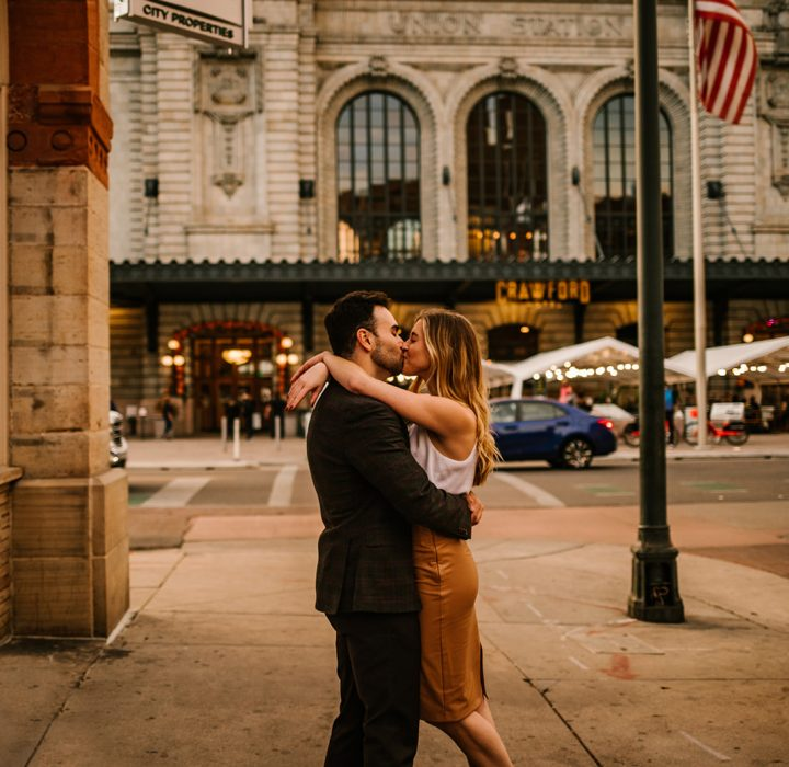 Timeless & Sophisticated Union Station Engagement