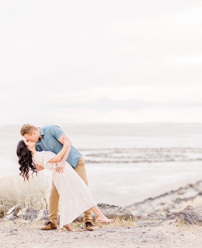 Light-Hearted and Lively Engagement at Spiral Jetty