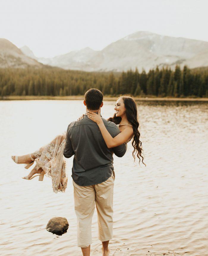 Enchanting Vail Engagement