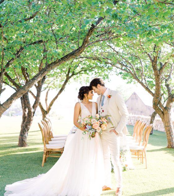 Romantic Pastel Palette Wedding Inspiration