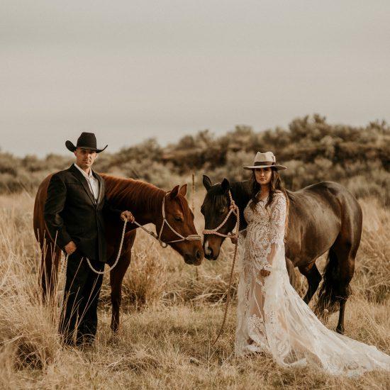 Western Love Idaho Elopement Inspiration