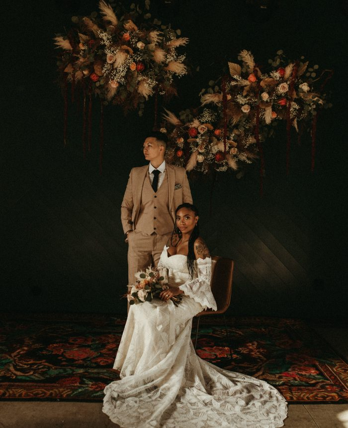 Edgy Minimalist Wedding Inspiration at The Surf Hotel