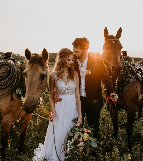 Personal and Private Farm Elopement Inspiration