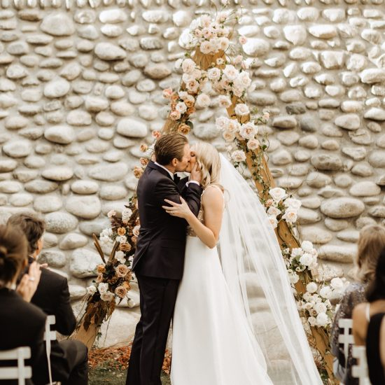Real Wedding | The Rocky Mountains Meet French Chateau