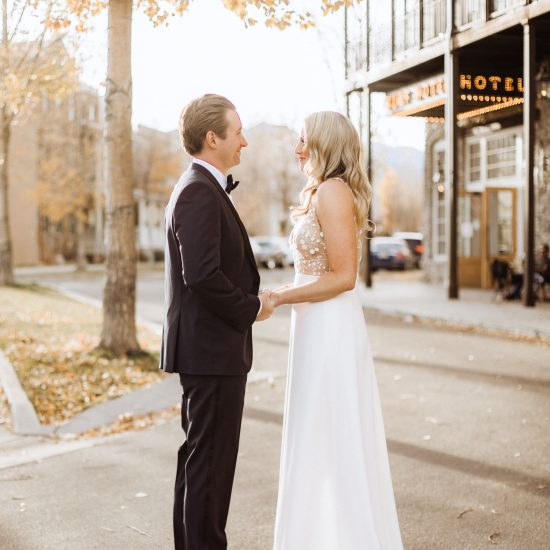 Real Bride: The Rocky Mountains Meet French Chateau