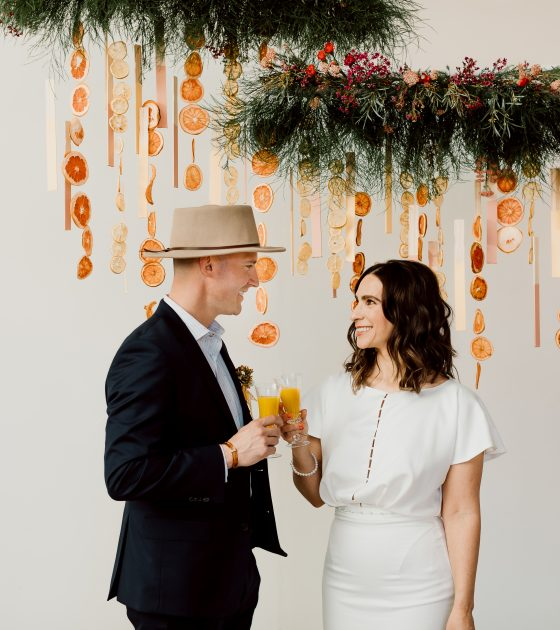 Sweet and Tangy Wedding Inspiration