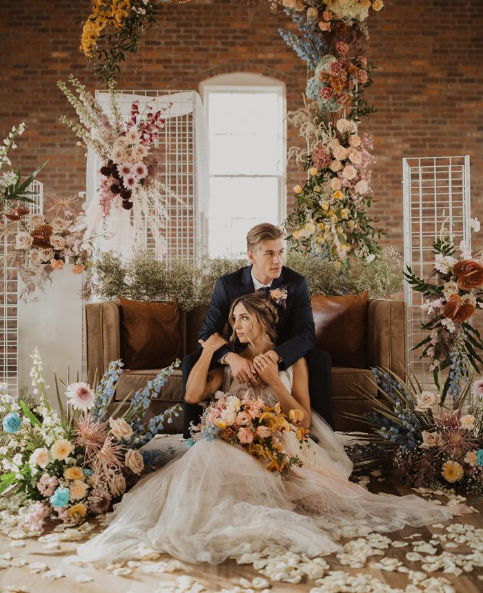What Floral Dreams Are Made Of Wedding Inspiration