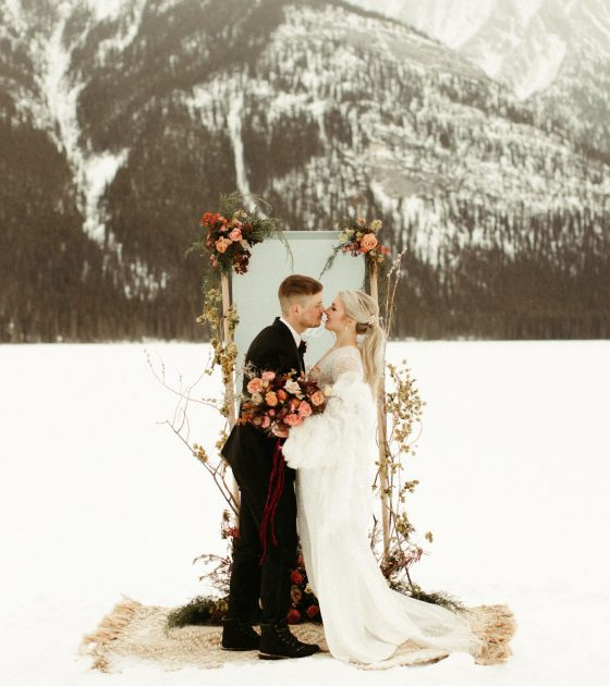Winter Wedding Dresses and Accessories