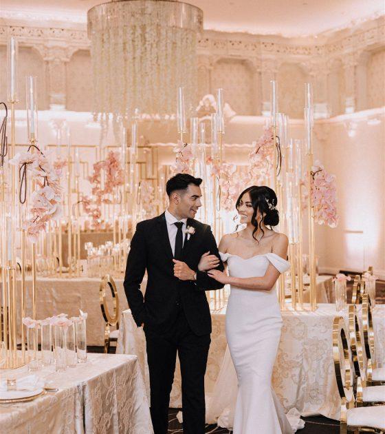 Glamorous Rosewood Hotel Georgia Wedding Inspiration