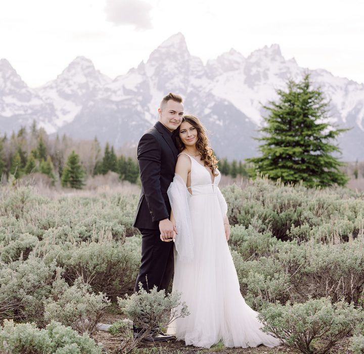 Ideal and Intimate Jackson Hole Elopement