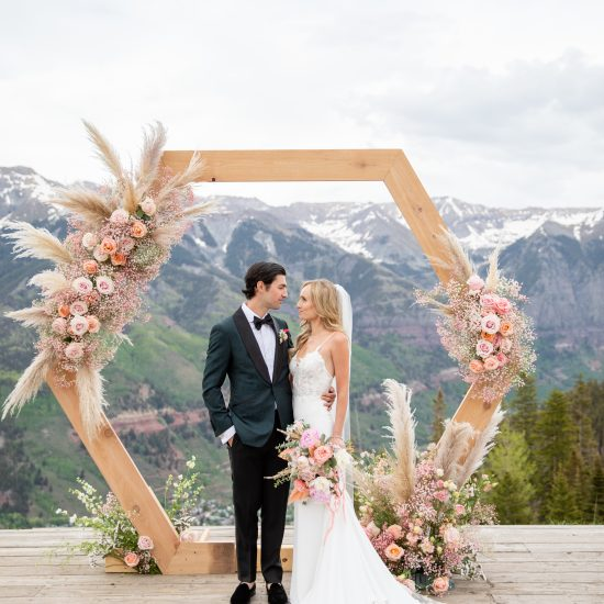 A Modern Romance Wedding in Telluride