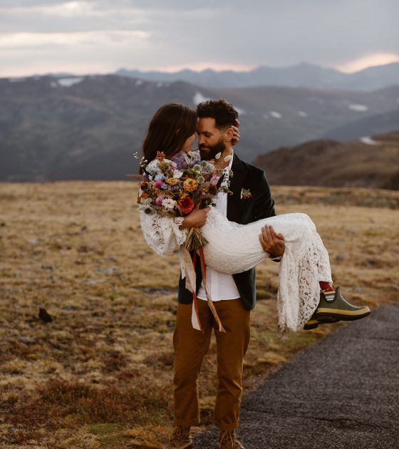 Moody Adventure Elopement at Rocky Mountain National Park