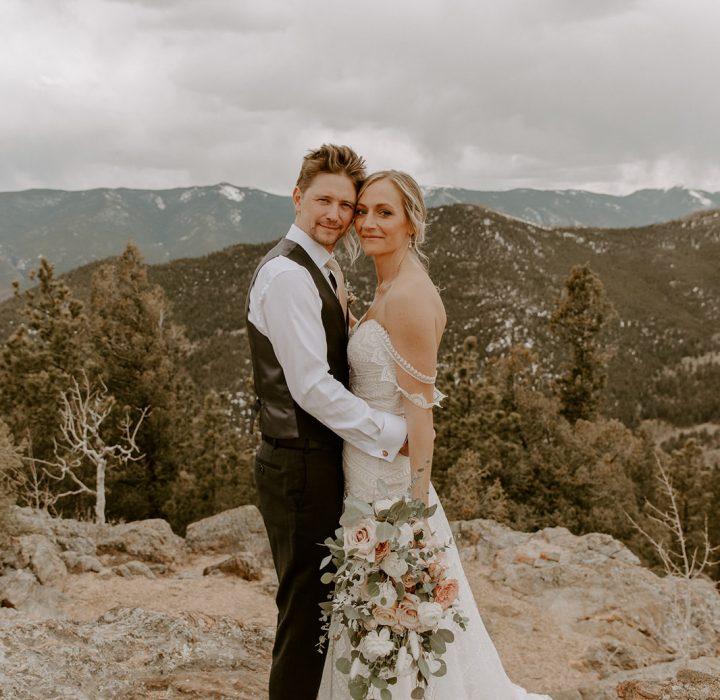 Simply Rustic Wedding at Deer Creek Mountain Camp