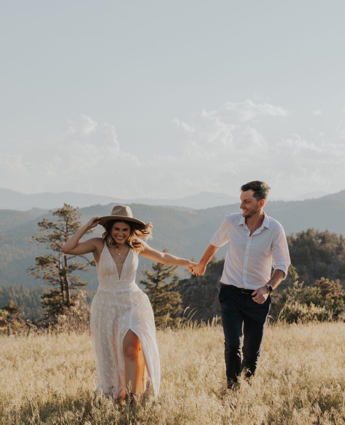 Warm Summer Engagement in Evergreen