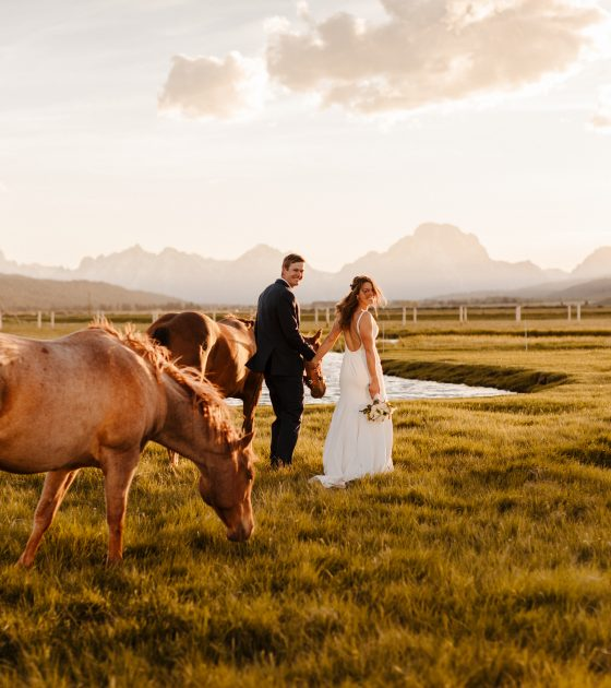 Western Meets Modern Elegance Wedding