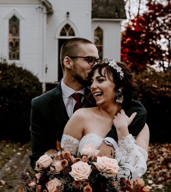 Moody and Boho Chic Fall Wedding