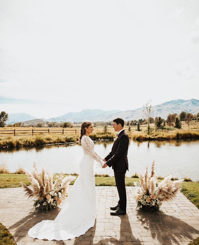 Organic and Vintage Aesthetic Wedding at River Bottoms Ranch