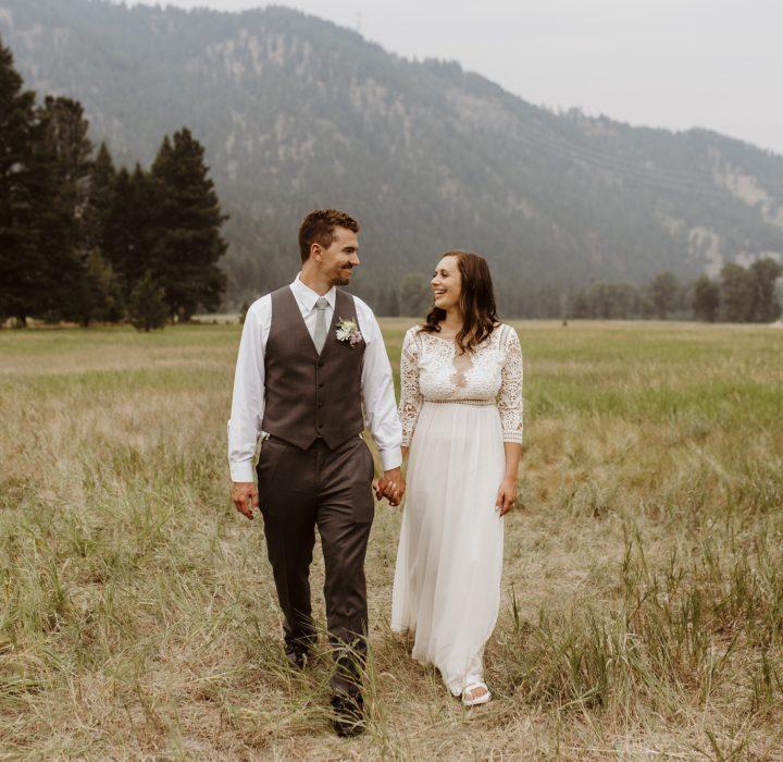 A Quaint Homegrown Wedding