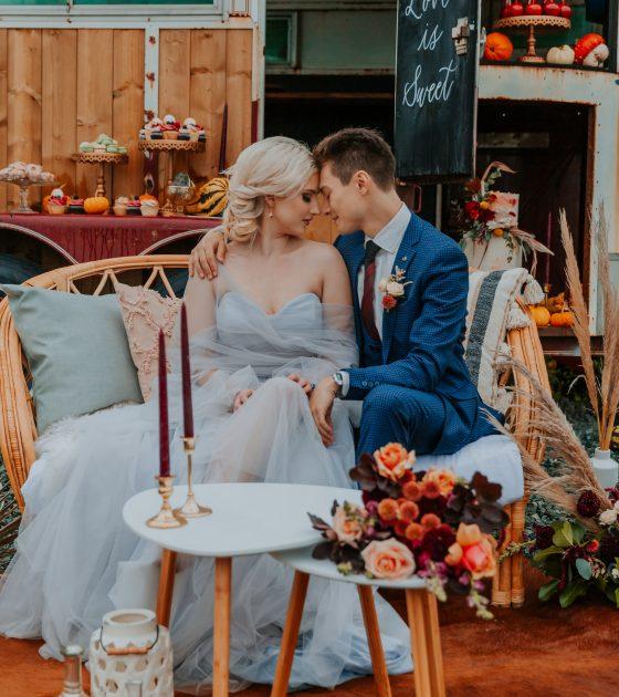 Rustic Harvest Farm Wedding Inspiration