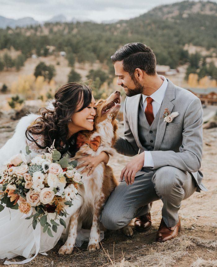 Real Wedding | Terra Cotta Toned Autumn Wedding