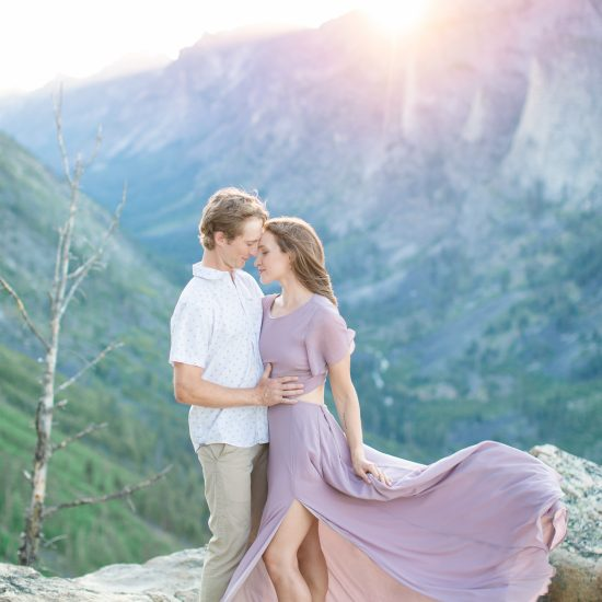 Whimsical and Romantic Bitterroot Valley Engagement