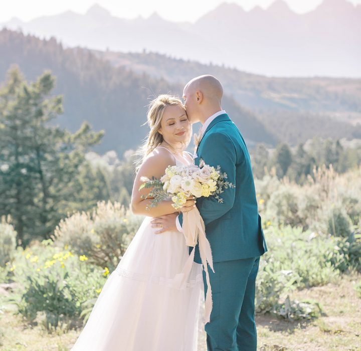 Wyoming Elopement at the Wedding Tree