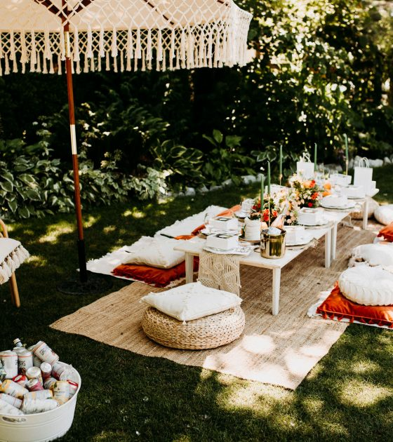5 Must-Haves for an Intimate Bridal Shower Picnic