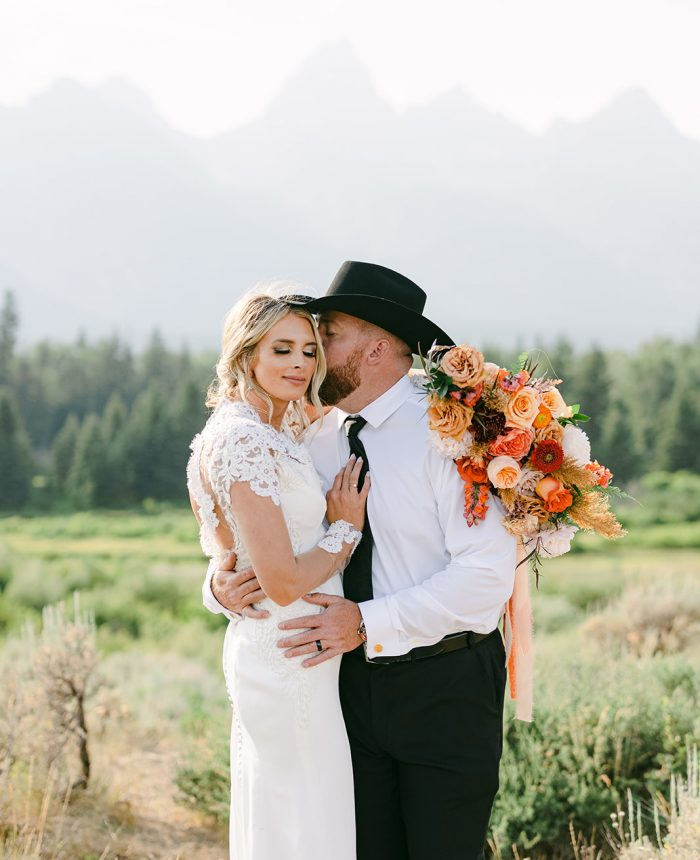 An Intimate Wedding in the Tetons