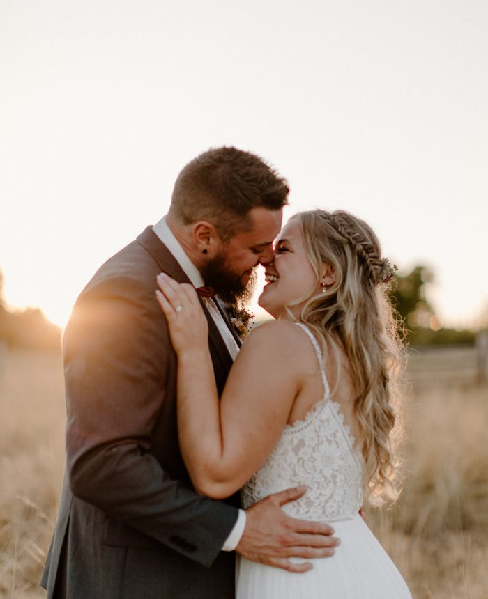 Romantic and Rustic Wedding at Keating Farm
