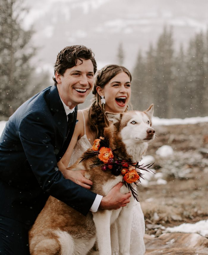 Snowy Elopement in the Durango Mountains