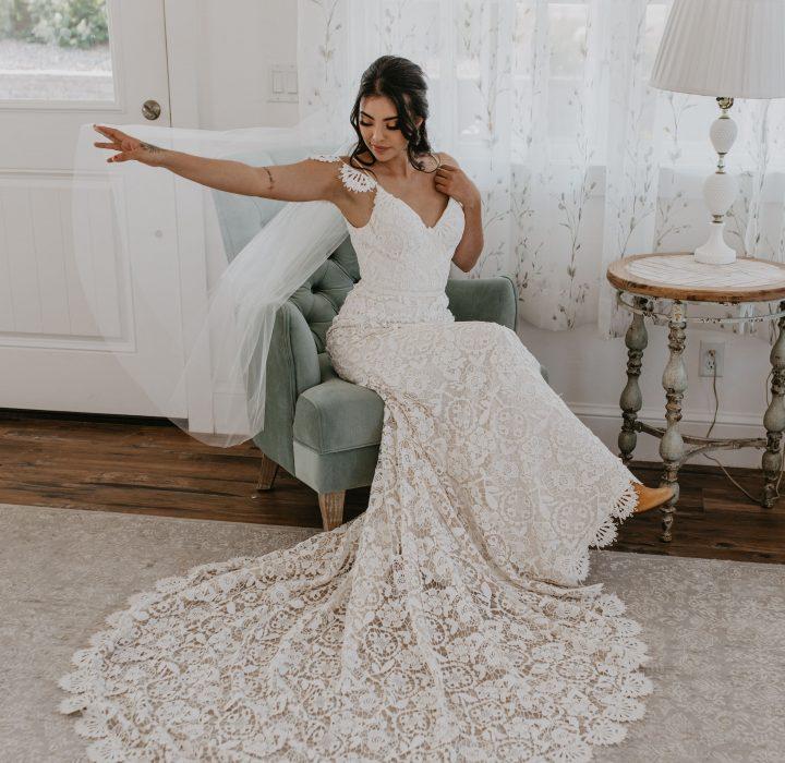Vintage and Romantic Wedding Inspiration at Bonnie Blues